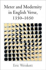 Omslag - Meter and Modernity in English Verse, 1350-1650