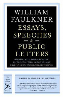 Essays, Speeches and Public Letters av W. Faulkner (Heftet)