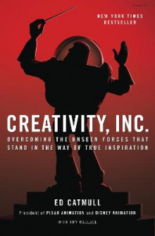 Creativity, Inc. av Ed Catmull og Amy Wallace (Innbundet)