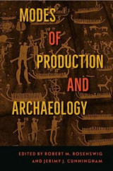 Omslag - Modes of Production and Archaeology