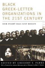 Omslag - Black Greek-Letter Organizations in the Twenty-First Century