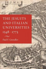 Omslag - The Jesuits and Italian Universities 1548-1773