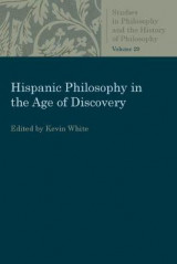 Omslag - Hispanic Philosophy in the Age of Discovery