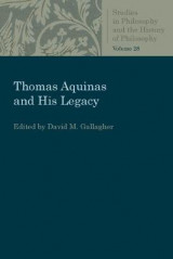 Omslag - Thomas Aquinas and His Legacy