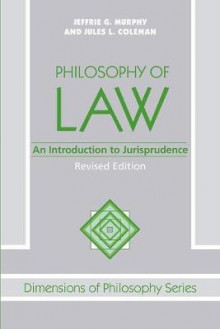 Philosophy of Law av Jeffrie G. Murphy og Jules L. Coleman (Heftet)