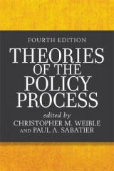 Omslag - Theories of the Policy Process (Fourth Edition)