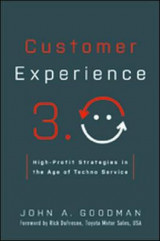 Omslag - Customer Experience 3.0: High-Profit Strategies in the Age of Techno Service