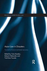Omslag - Asian Law in Disasters