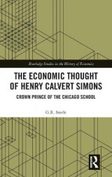 Omslag - The Economic Thought of Henry Calvert Simons