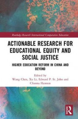 Omslag - Actionable Research for Educational Equity and Social Justice