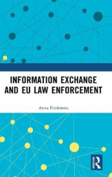Omslag - Information Exchange and EU Law Enforcement