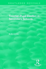 Omslag - Teacher-Pupil Conflict in Secondary Schools (1987)