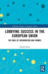 Omslag - Lobbying Success in the European Union