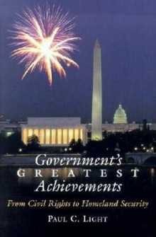 Government's Greatest Achievements av Paul C. Light (Innbundet)