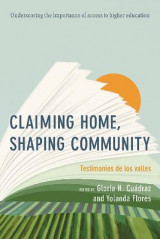 Omslag - Claiming Home, Shaping Community