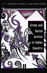 Omslag - Crime and Social Justice in Indian Country