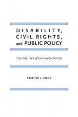 Omslag - Disability, Civil Rights, and Public Policy