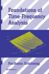 Omslag - Foundations of Time-frequency Analysis