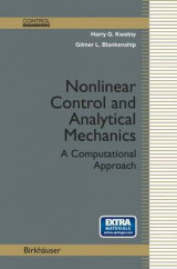 Omslag - Nonlinear Control and Analytical Mechanics