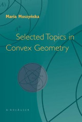 Omslag - Selected Topics in Convex Geometry