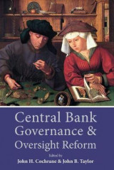 Omslag - Central Bank Governance and Oversight Reform