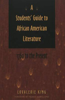 A Students' Guide to African American Literature av Lovalerie King (Heftet)