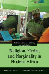 Omslag - Religion, Media, and Marginality in Modern Africa