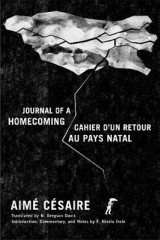 Omslag - Journal of a Homecoming / Cahier d'un retour au pays natal
