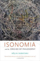 Omslag - Isonomia and the Origins of Philosophy
