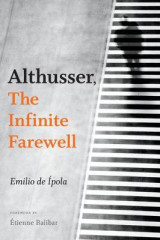 Omslag - Althusser, The Infinite Farewell