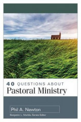 Omslag - 40 Questions about Pastoral Ministry