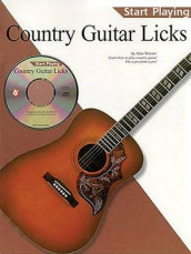 Country Guitar Licks av Music Sales Corporation og Alan Warner (Blandet mediaprodukt)