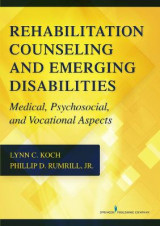 Omslag - Rehabilitation Counseling and Emerging Disabilities