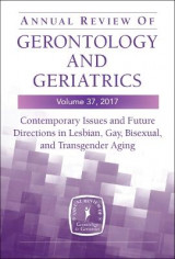 Omslag - Annual Review of Gerontology and Geriatrics 2017: Volume 37