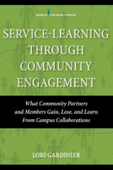 Omslag - Service Learning Through Community Engagement