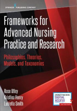 Omslag - Frameworks for Advanced Nursing Practice and Research