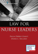 Omslag - Law for Nurse Leaders