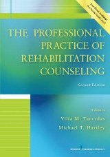 Omslag - The Professional Practice of Rehabilitation Counseling