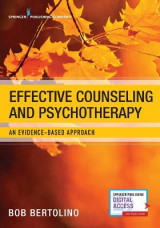 Omslag - Effective Counseling and Psychotherapy