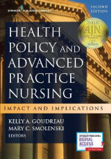 Omslag - Health Policy and Advanced Practice Nursing