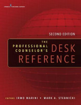 Omslag - The Professional Counselor's Desk Reference