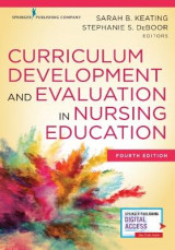 Omslag - Curriculum Development and Evaluation in Nursing Education