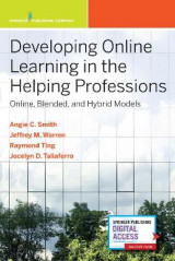 Omslag - Developing Online Learning in the Helping Professions