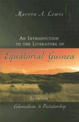 Omslag - An Introduction to the Literature of Equatorial Guinea
