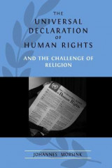 Omslag - The Universal Declaration of Human Rights and the Challenge of Religion