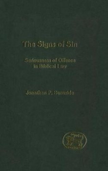 Signs of Sin av Jonathan Burnside (Innbundet)