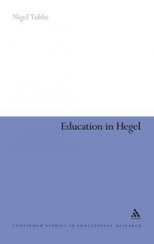 Education in Hegel av Nigel Tubbs (Innbundet)
