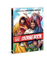 Omslag - The Action Bible Coloring Book