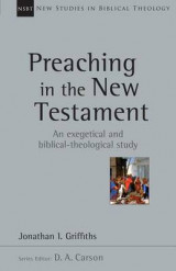 Omslag - Preaching in the New Testament