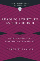 Omslag - Reading Scripture as the Church